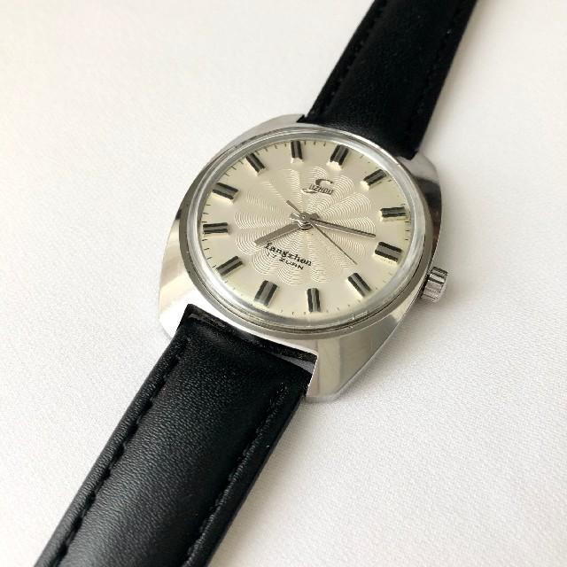 スーパーコピー 時計 セイコー評価 / ビンテージ SUZHOU蘇州 17石メンズ手巻き腕時計 稼動 ベルト未使用の通販 by かっつん's shop