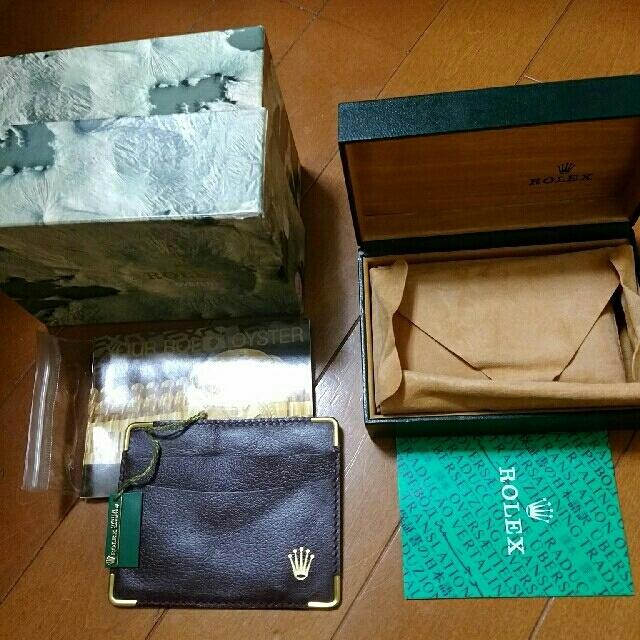 オメガ シーマスター アクアテラ レディース ダイヤ 、 ROLEX - ロレックス 箱です の通販 by ピチョンちゃん