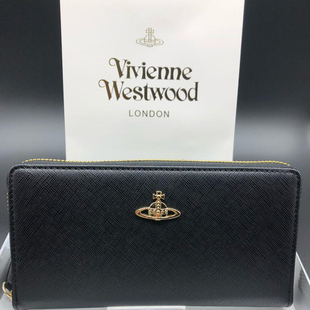 Vivienne Westwood - 【新品・正規品】ヴィヴィアン ウエストウッド 長財布 306 黒 プレゼントの通販 by NY's shop