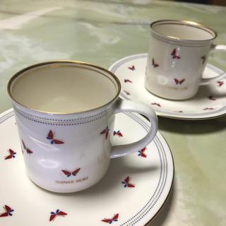 ハナエモリ(HANAE MORI)のHANAE MORI モリハナエ ペア カップ&ソーサー(グラス/カップ)
