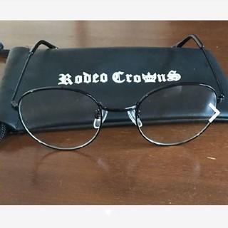 ロデオクラウンズ(RODEO CROWNS)の値下げ不可‼️【美品】ロデオクラウンズ 伊達眼鏡(サングラス/メガネ)