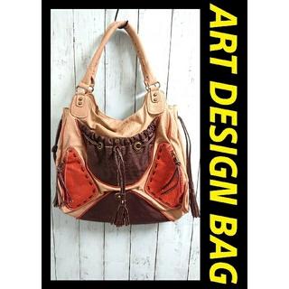 ART DESIGN アートデザイン 個性的 ハンドバッグ