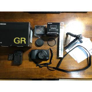 リコー(RICOH)の値下げ RICOH リコー GR2 美品 付属品多数(コンパクトデジタルカメラ)