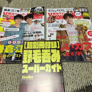 カドカワショテン(角川書店)の横浜ウォーカー 2019年 11月号 12月号(ニュース/総合)