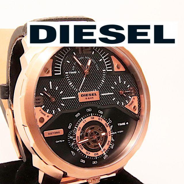 DIESEL - ★ほぼ新品★ ディーゼル クオーツ メンズ腕時計 02★かめちのお店の通販 by かめち