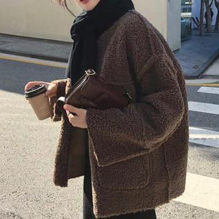 TODAYFUL - Poodle boa jacket