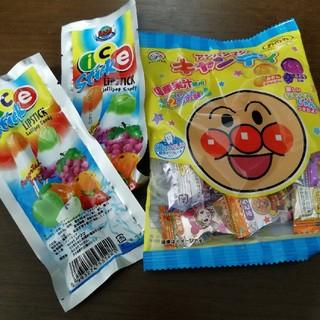 アンパンマン(アンパンマン)のアンパンマン 飴 アイスキャンデー2本(菓子/デザート)