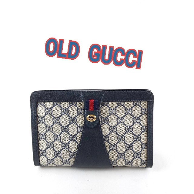 時計 ジャックロード 偽物ヴィトン - Gucci - GUCCI オールドグッチ クラッチバッグの通販 by ブルースカイ