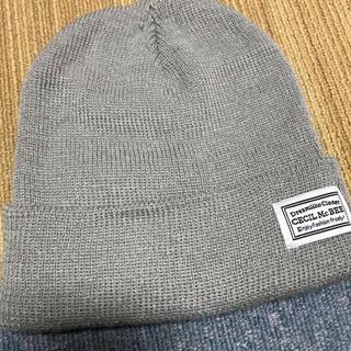 セシルマクビー(CECIL McBEE)のCECIL Mc BEEニット帽(ニット帽/ビーニー)