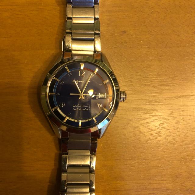 スーパーコピー 時計女性 / agnes b. - Agnes b 腕時計 ソーラー7b520AJ0 ジャンクの通販 by たか's shop