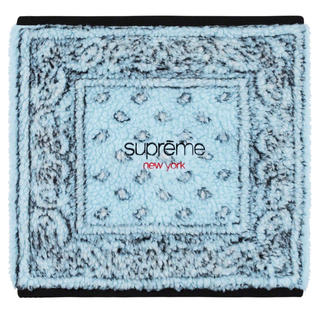 シュプリーム(Supreme)のsupreme Bandana Fleece Neck Gaiter(ネックウォーマー)