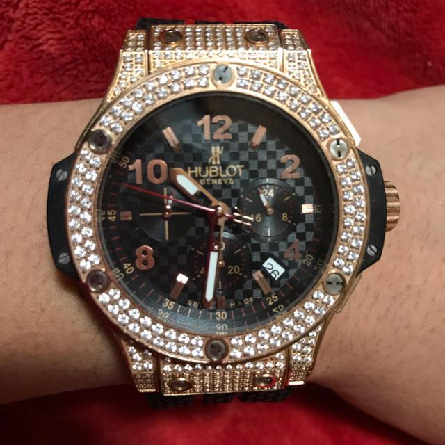 オメガ シーマスター スーパーコピー時計 - HUBLOT - HUBLOT BIGBANGの通販 by ジンガ's shop