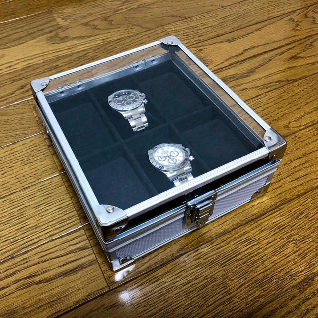 時計 ヴァシュロン ロレックス 、 ROLEX - アルミウォッチケース 6本用の通販 by SUPREME