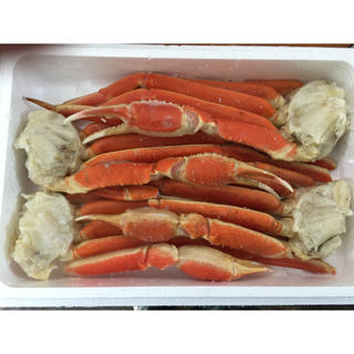 超特大ズワイ蟹足 6L 2kg  送料無料(魚介)