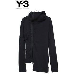 ワイスリー(Y-3)の正規品Yohji Yamamoto/Y-3/ロングパーカー/ブラック/S    (パーカー)