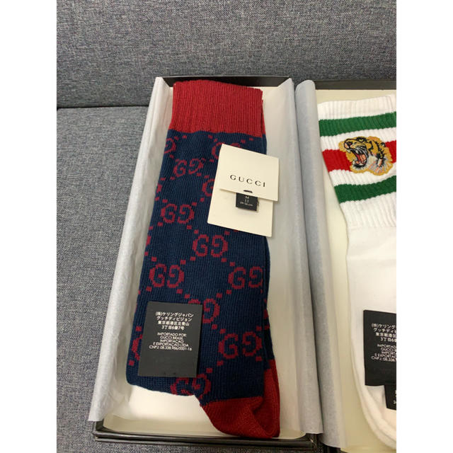 ベルルッティ ベルト 偽物 ヴィトン 、 Gucci - GUCCI GGソックスの通販 by masmas's shop
