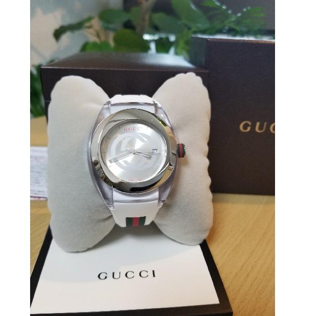 スーパーコピー 時計 店頭販売 simフリー 、 Gucci - 人気モデル★レアGUCCI 腕時計YA137102 保証2年付き!の通販 by DESTINY LUVER™️