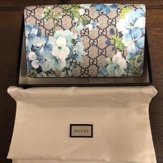 ルイヴィトン 財布 メンズ 偽物 - Gucci - 新品 グッチ GUCCI ブルームス チェーン ウォレット 長財布の通販