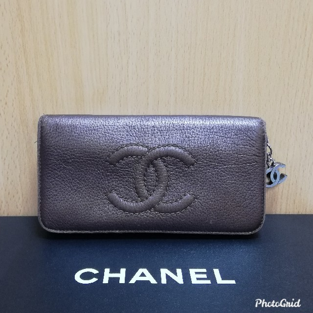 CHANEL - CHANEL シャ�ル ココマーク 長財布 正����通販 by cho's shop