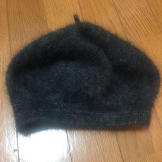 ザラ(ZARA)のザラ グレー ニット帽(ニット帽/ビーニー)