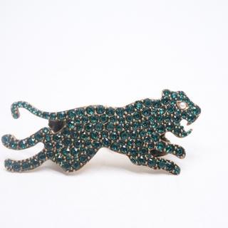 グッチ(Gucci)のGUCCI グッチ ミケーレライン ファッションジュエリー ダブルリング 豹 (リング(指輪))