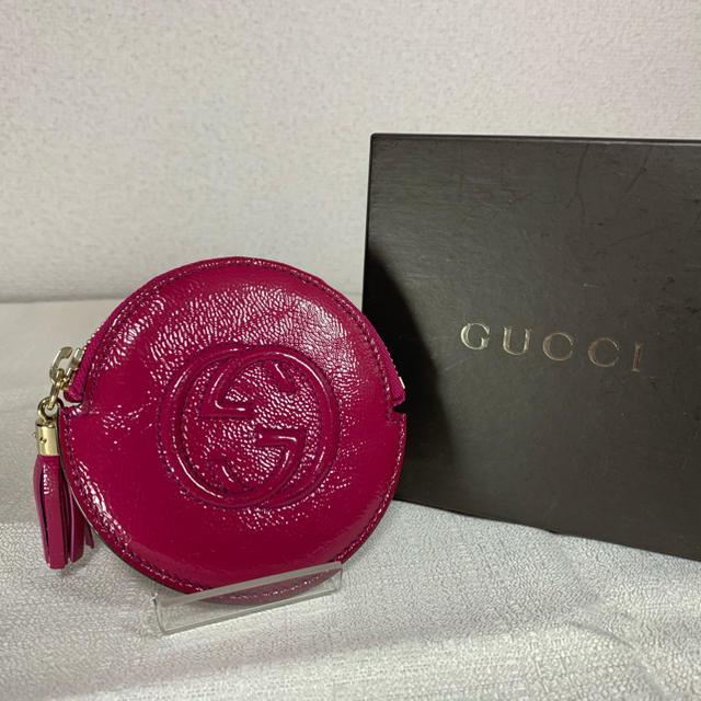 Gucci - GUCCI グッチ パテント 337946 ソーホー コインケース ピンク系の通販 by インポートファッション☆即購入OK!
