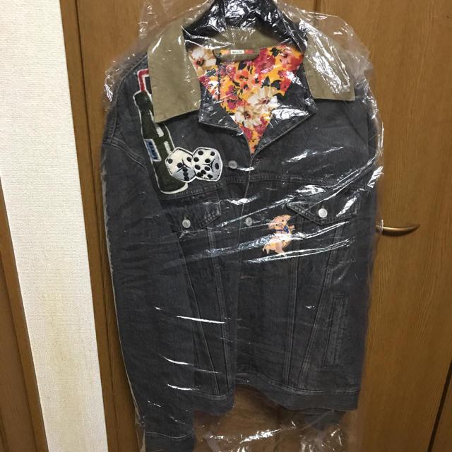ヴィトン 長財布 偽物 見分け親 - Gucci - GUCCI デニムジャケットの通販 by ぐーちゃんshop