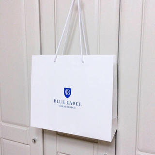 バーバリーブルーレーベル(BURBERRY BLUE LABEL)の《特大サイズ》新品未使用 ブルーレーベル ショップバッグ(ショップ袋)