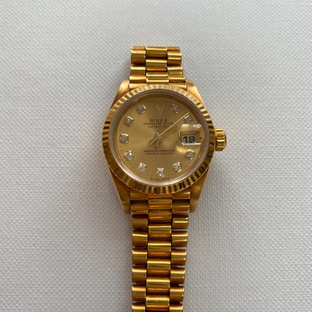 クレージーアワー / ROLEX - ROLEX デイトジャスト 18K 750 腕時計の通販 by happytorn