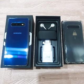 ギャラクシー(Galaxy)のDual Samsung Galaxy S10 128GB 美品(スマートフォン本体)