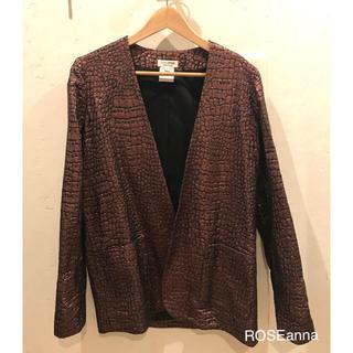 バーニーズニューヨーク(BARNEYS NEW YORK)のROSEanna jacket(ノーカラージャケット)
