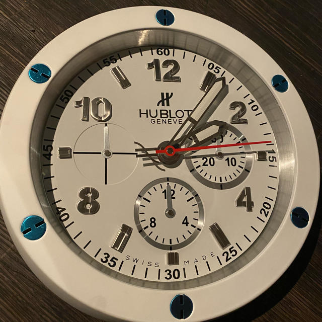 ウブロ 掛け時計の通販 by ごま油谷さん's shop