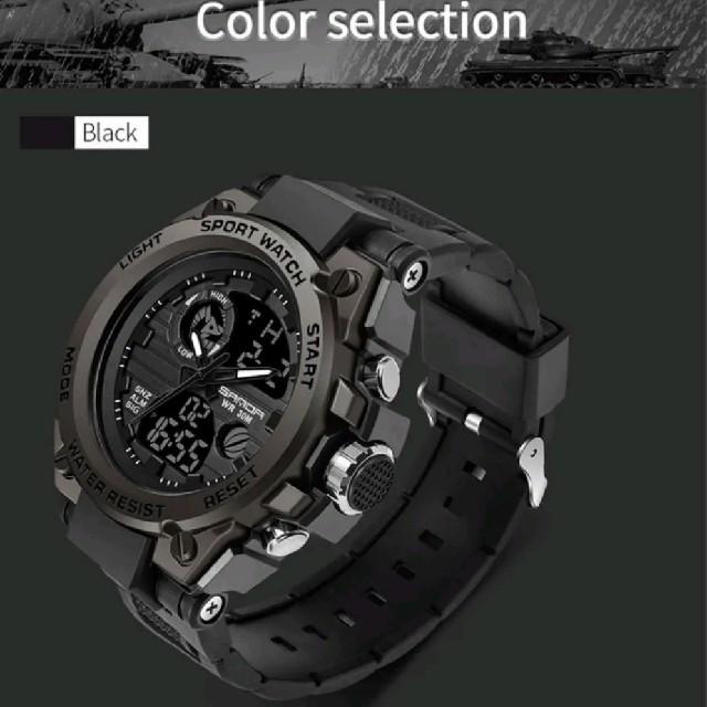 海外モデルSANDA 739 ミリタリー メンズ腕時計 多機能の通販 by ★CieL....★
