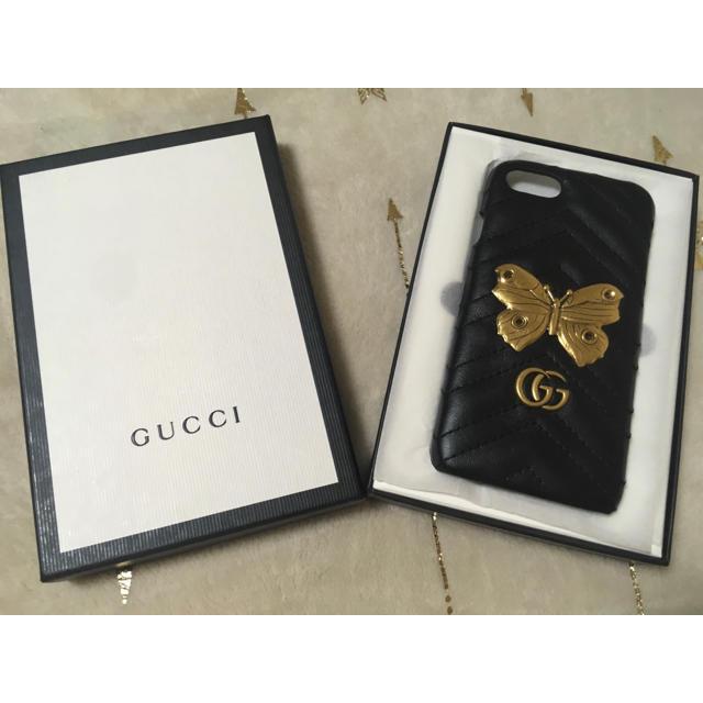 Gucci - 【新品、未使用品】GUCCI GGマーモント iPhone ケースの通販 by Megumo shop