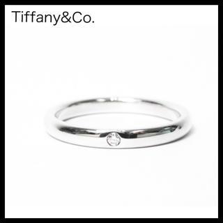 ティファニー(Tiffany & Co.)のTiffany&Co. ティファニーSV925スタッキングバンドリング1Pダイヤ(リング(指輪))