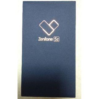 エイスース(ASUS)のZenfone 5Z ZS620KL スペースシルバー【新品未開封】(スマートフォン本体)