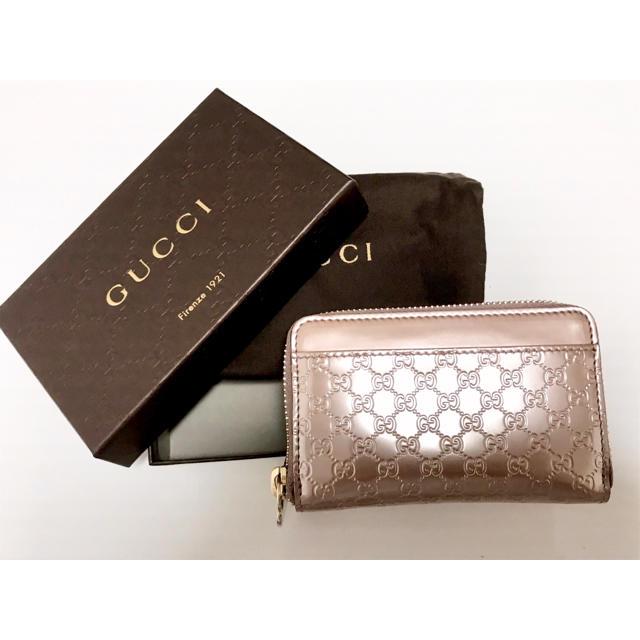 Gucci - 未使用 グッチ マイクロシマ コインケースの通販 by たる。's shop
