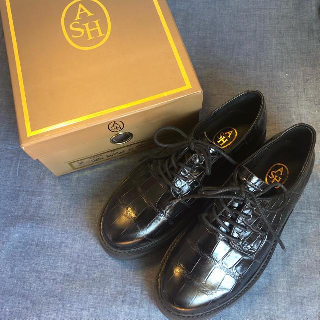 ASH(アッシュ)の新品★ASH★レザー★レースアップシューズ★革靴size37 レディースの靴/シューズ(ローファー/革靴)の商品写真