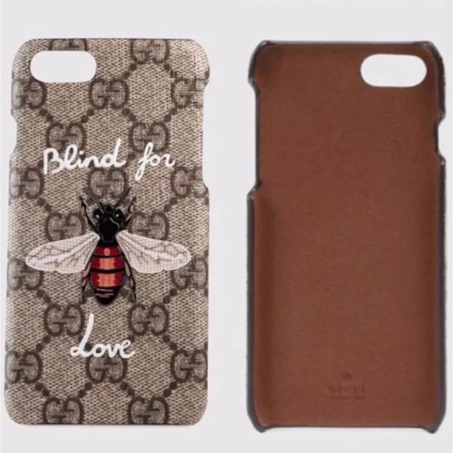 Gucci - 【新品、未使用品】GUCCI グッチ 蜂柄 携帯ケース iPhone 7/8の通販 by Megumo shop