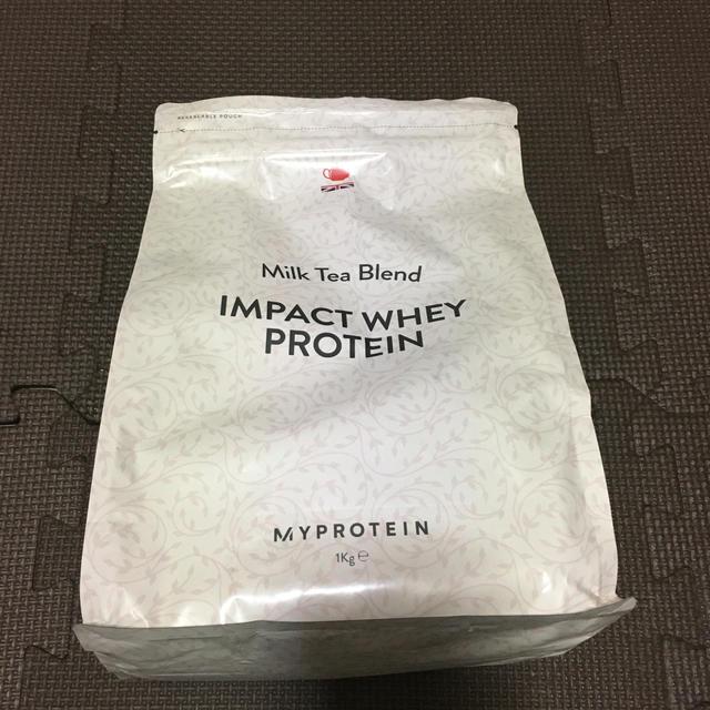 MYPROTEIN(マイプロテイン)のマイプロテイン  インパクトホエイプロテイン1キロミルクティー味 食品/飲料/酒の健康食品(プロテイン)の商品写真