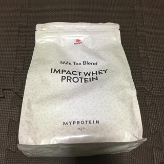 マイプロテイン(MYPROTEIN)のマイプロテイン  インパクトホエイプロテイン1キロミルクティー味(プロテイン)