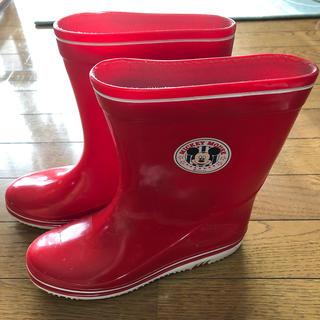 ムーンスター(MOONSTAR )のミッキーマウス長靴(22.5センチ)(長靴/レインシューズ)