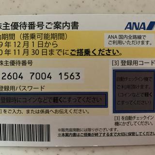 ANAの株主優待券、普通郵便でなら送料込みです。(その他)