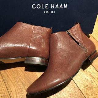 コールハーン(Cole Haan)の未使用★半額以下★コールハーン ショートブーツ ブーティー(ブーツ)