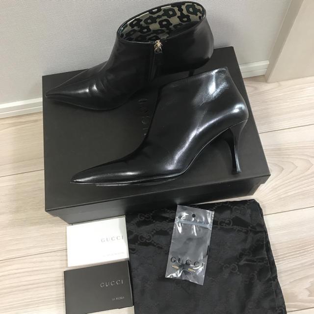 Gucci - グッチ ブーツ✨GUCCI ブーツ ヒールブーツ  36cの通販 by yuki★