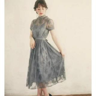 スナイデル(snidel)のbaby's breath dress(ミディアムドレス)