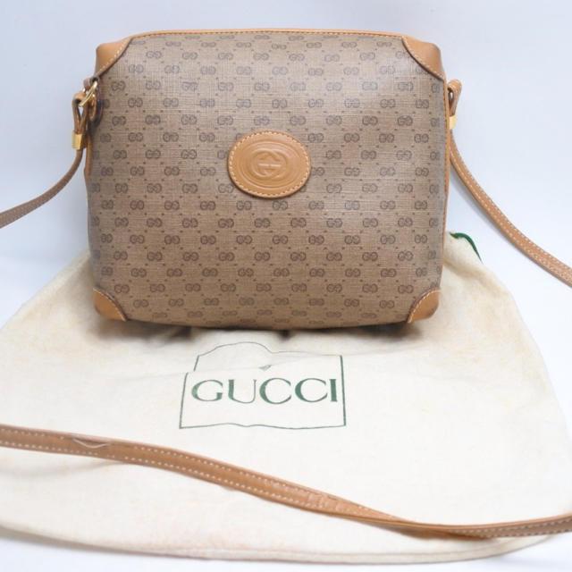 Gucci - GUCCI グッチ マイクロGG ショルダーバッグ  ヴィンテージ レディースの通販 by ごとく's shop