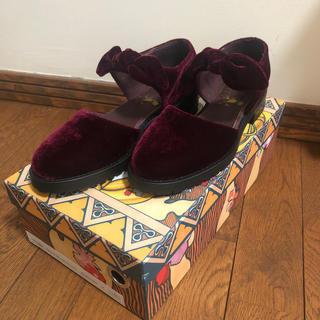 F-TROUPE - F-Troupe ベロア 靴