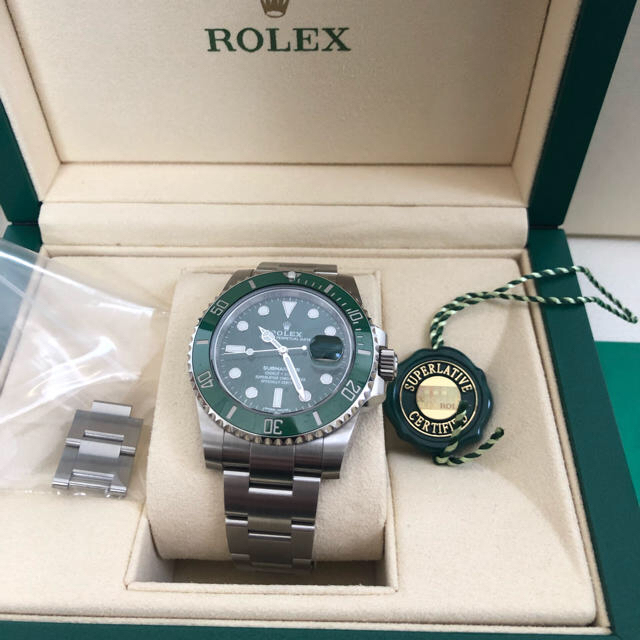 ビッグカメラ 時計 ロレックス - ROLEX - サブマリーナ グリーン 116610LVの通販 by まつ's shop