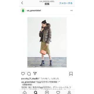 グリーンレーベルリラクシング(green label relaxing)の【 momon様♡】green label relaxing ショートダウン(ダウンジャケット)